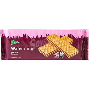 ALIADA galletas wafer rellenas de chocolate estuche 200 g