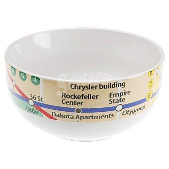 QUO Bowl Cereales gres metro Nueva York de 50 cl 50 cl