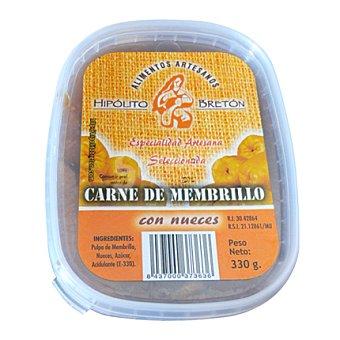 Hipolito Carne de membrillo con nueces 330 g