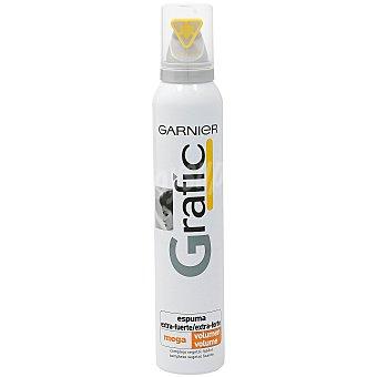 Grafic Garnier Espuma fijación extra fuerte Spray 200 ml