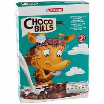 Eroski Choco Bills de trigo inflado Caja 375 g
