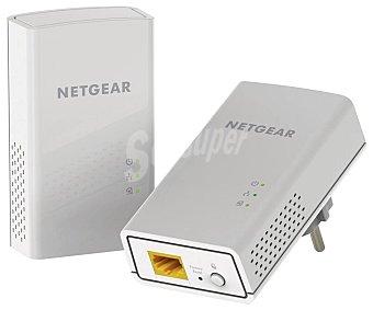 Netgear Kit de PLC Powerline 1200, 1200 Mbps, 1 puerto Gigabit