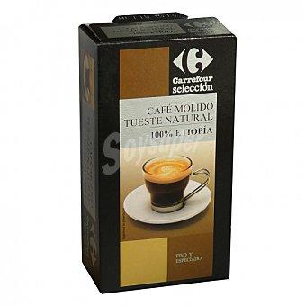 Carrefour Selección Café molido natural Etiopia 250 G 250 g