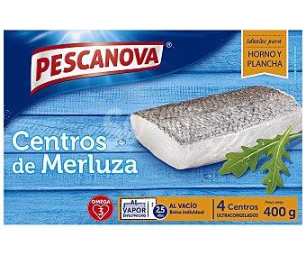 Pescanova Merluza ultrancongelada, centros 400 g