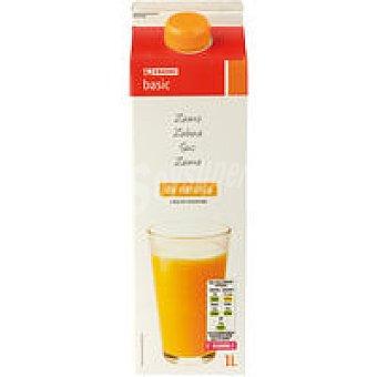 Eroski Basic Zumo de naranja concentrado Brik 1 litro