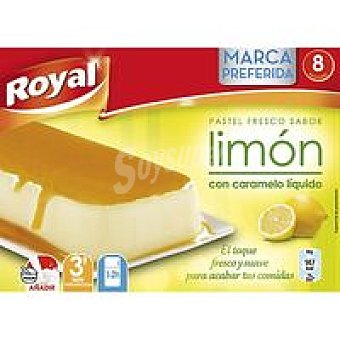 Royal Pastel fresco sabor yogur Caja 100 g