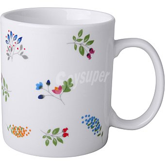 Unit Adel Mug decorado flores