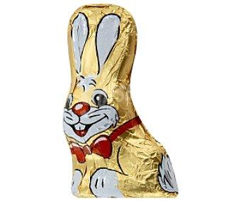 PASCUA Conejo de pascua dorado de chocolate con leche 30g