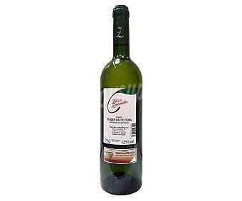 VIÑA ZANATA Vino blanco con denominación de origen Tenerife botella de 75 centilitros
