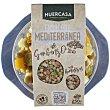 Ensalada mediterránea de garbanzos con hortalizas de cultivo ecológico Tarrina 250 g Huercasa