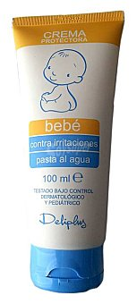 Deliplus CREMA PROTECTORA BEBE PARA PAÑAL (PASTA AL AGUA) TUBO 100 cc