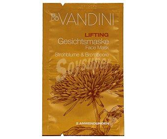 Aldo Vandini Mascarilla lifting facial con siempreviva y zarzamora Pack de 2 x 7.5 ml