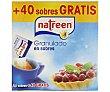 Aspartamo edulcorante granulado Caja 90 sobres Natreen