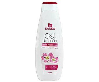 Sanko Gel de baño o ducha con aceite de rosa mosqueta 1250 ml