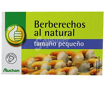 Productos Económicos Alcampo Berberechos al natural (tamaño pequeño) 58 gramos peso escurrido