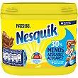 Cacao instantáneo sin gluten con 30% menos de azúcares y sin gluten bote 350 g bote 350 g Nesquik Nestlé