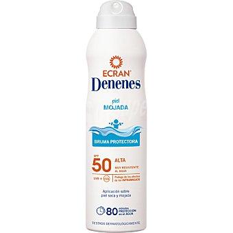 Denenes Spray protector invisible para piel mojada FP 50 250 ml