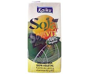 Kaiku Bebida de Soja Brik 1 litro