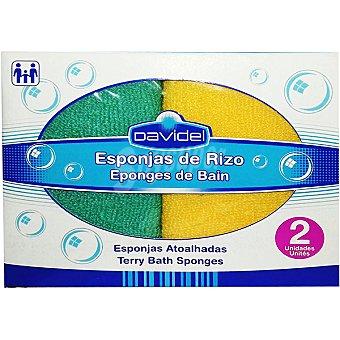 Davidel Esponja de rizo paquete 2 unidades