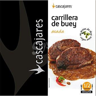 CASCAJARES Carrillera de buey asada en oliva de oliva lata 750 g Lata 750 g