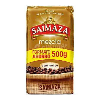 Saimaza Café molido mezcla formato ahorro Paquete 500 g