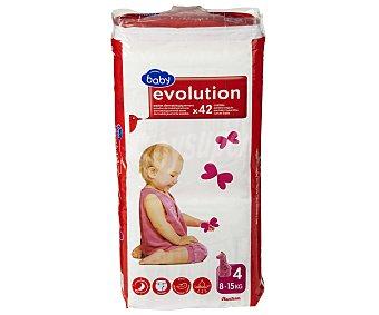 Auchan Pañales Aprendizaje Evolution para Niños de 8 a 15 Kilogramos 42u