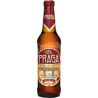 PRAGA botella 0 Cerveza trigo checa 50