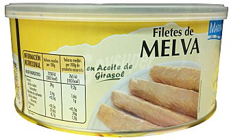 MARINARA Melva filete aceite vegetal Lata 720 g escurrido