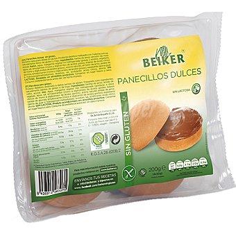 Beiker Panecillos dulces sin gluten Envase 200 g