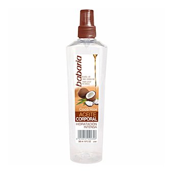 Babaria Aceite corporal de coco FP 2 spray 200 ml