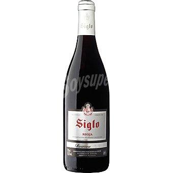 Siglo Vino tinto reserva D.O. Rioja botella 75 cl Botella 75 cl