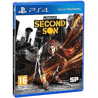 PS4 Videojuego Infamous Second  1 unidad