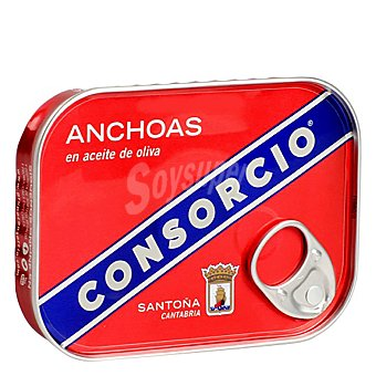 Consorcio Anchoa aceite de oliva 78 g