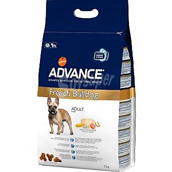 Advance Affinity Alimento de alta gama para perros adultos con pato y arroz French Bulldog Bolsa 3 kg