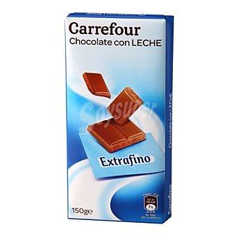 Carrefour Chocolate con leche extrafino 150 g