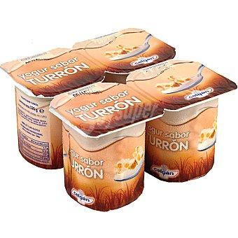Celgan Yogur sabor turrón pack 4 unds. 125 g Pack 4 unds. 125 g
