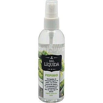 SAL FOSSIL sal líquida ligera ej sodio con aroma natural de pepino Envase 100 ml