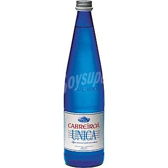 CABREIROA Única Agua mineral con gas Botella 75 cl