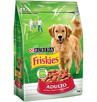 Purina Friskies Comida perro adulto buey, cereales y verduras 3 KG