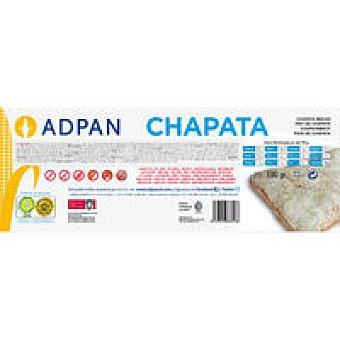 Adpan Chapata Mediterránea Paquete 190 g