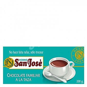 Horno S. Jose Chocolate a la taza Tableta 200 g
