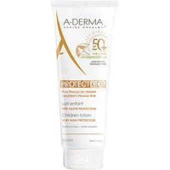 A-Derma Leche solar Protkids FP50+ Tubo 250 ml