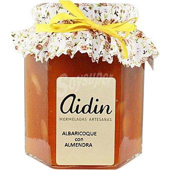 AIDIN Mermelada artesana de albaricoque con almendra frasco 305 g frasco 305 g
