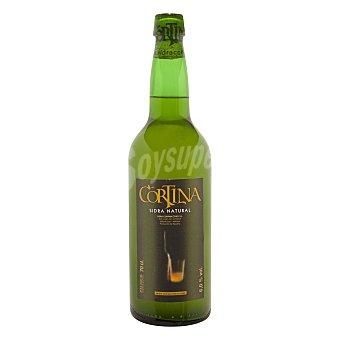Cortina Sidra asturiana natural Botella de 75 cl