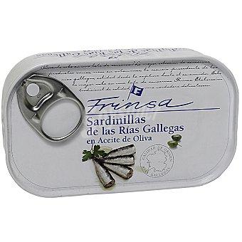 Frinsa Sardinillas de las rías gallegas en aceite de oliva 14-16 piezas Lata 90 g