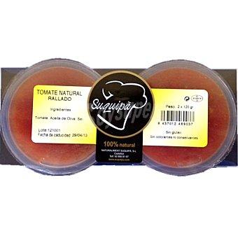 Suquipà Tomate natural rallado Pack 2 envases 120 g
