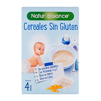 Hero Papilla polvo cereales sin gluten a partir 4 meses Caja 600 g