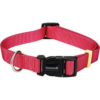 Karlie collar para perro color rosa medida 20-30x10 cm 1 unidad