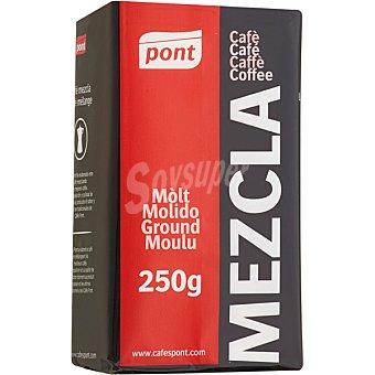 Pont Cafe molido mezcla 50-50 Paquete 250 g