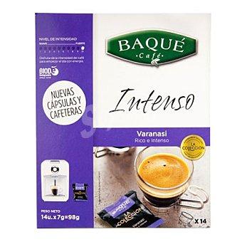 Café Baqué Café intenso capsulas 14 ud